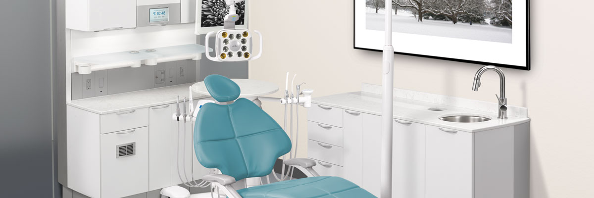 A-dec dental operatory