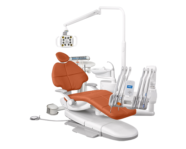 A-dec 500 dental equipment package with Campfire upholstery