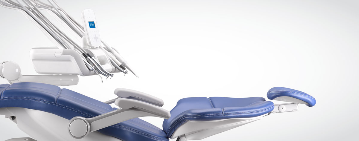 A-dec dental equipment in multiple dental operatories