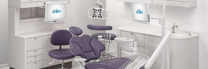 A-dec dental equipment operatory