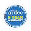 A-dec five year warranty