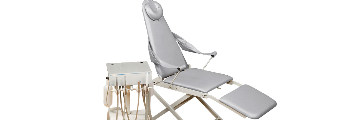 A-dec portable dental chair